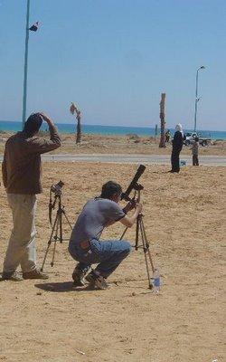 Preparing the camera