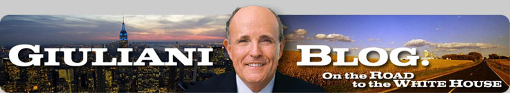 Giuliani Blog Tracking the likely Presidential candidacy of Rudy Giuliani