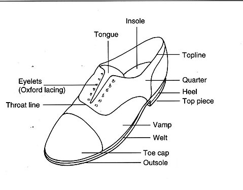 Footwear Anatomy Of The Shoe