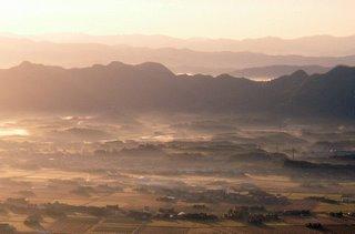 Dawn over Izumo