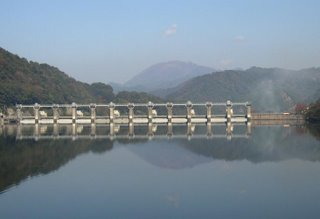 Dam on the Gonokawa River