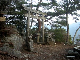 Shrine on Mt. Konpira