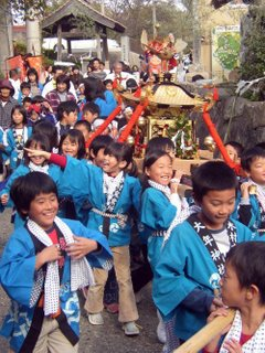Childrens mikoshi