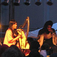 Coco Rosie at the Touch & Go 25th Anniversary festival, photo courtesy of Bradley's Almanac