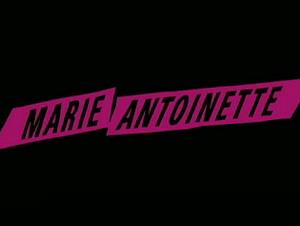 Sofia Coppola's Marie Antoinette