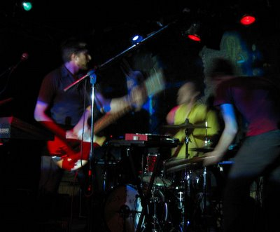 The Mobius Band at Great Scott, Boston, Sept. 27, 2006