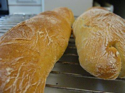si no canto lo podía haber hecho pasar por un pan à l'ancienne