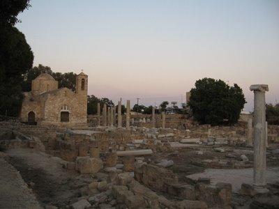 Ruinas en Pafos