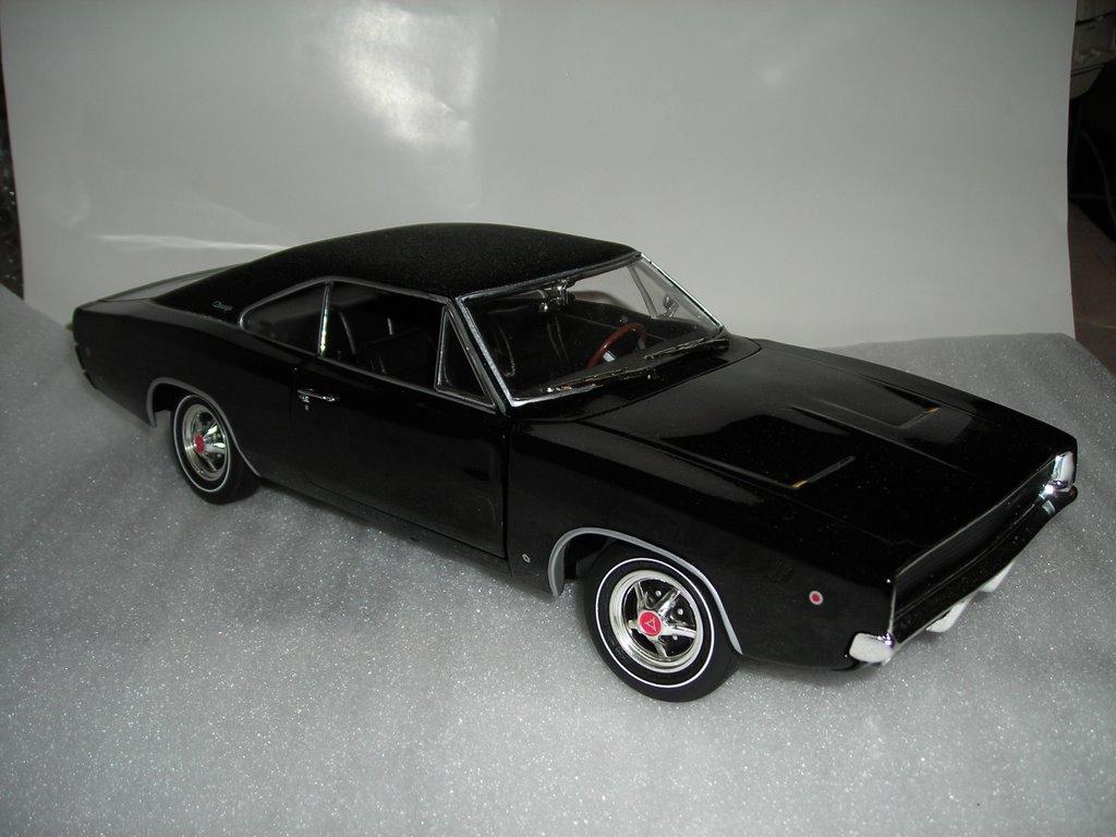 maquette voiture Américaine 1960 Chevy nova copo de 1969 par Monogram.