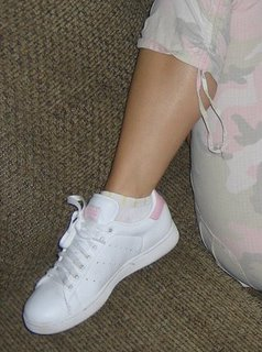 little white socks and shoes