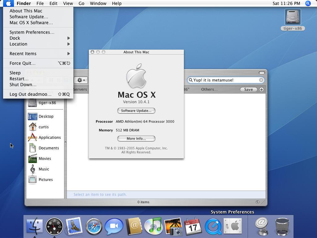 Создание установочной загрузочной флешки с mac os x (106; 107; 108; 109; 1010 создание установочного диска