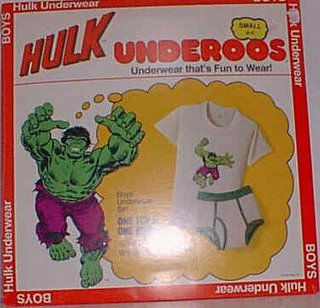 We salute you, oh brave Hulk underoos warrior