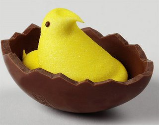 Peeps and chocolate... a diabetic's wet dream.
