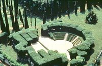 Le théâtre de verdure de la Villa Rizzardi, près de Vérone