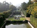 Jardins de la Villa Barbarigo, près de Padoue