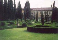 Vérone, Villa Giusti : le labyrinthe