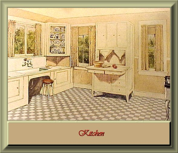 Home living small houses of the 1920 39 s for Kitchen ideas for 1920s house