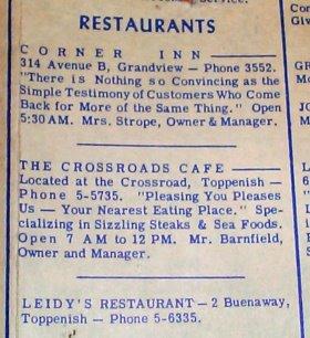 The Crossroads 1955