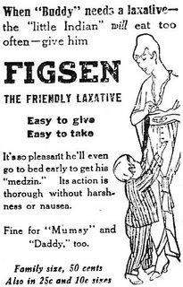 Mmm, Mumsy... laxative!