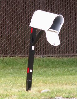 My new mailbox, 5/20/06 11am