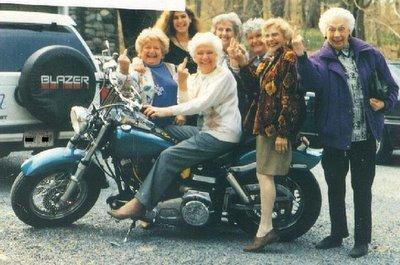 Biker Grandmas!