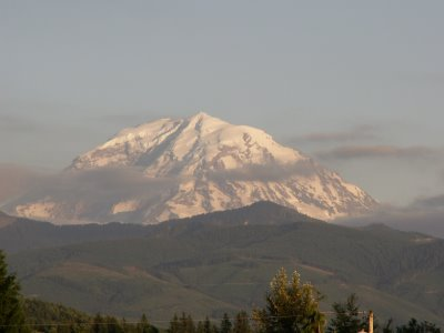 Mt Rainier from Enumclaw