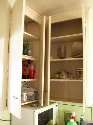 When we got there, the cupboard was bare
