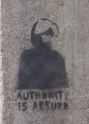 Ruston Tunnel stencil