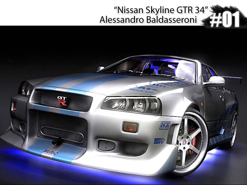 diseño de autos en 3d: tunning en 3d