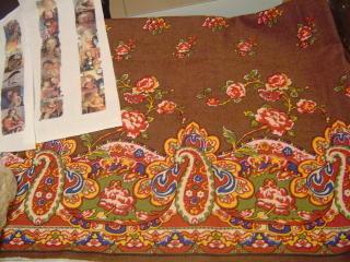 Paisley Linen