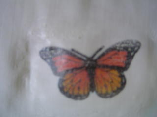 Butterfly Burnished to Muslin
