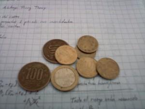 faltan monedas...