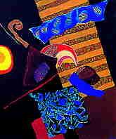 تجربة الفنان التشكيلي المغربي محمد شبعة Chebaa