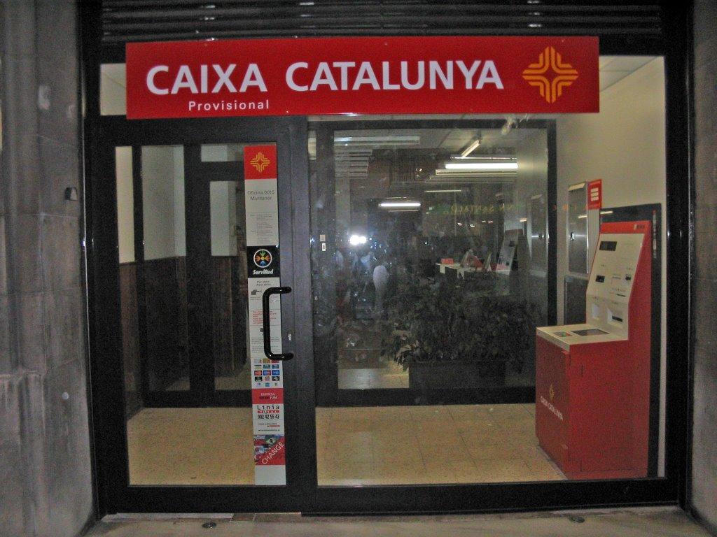 Fraqnuoc vs caixa catalunya for Oficina catalunya caixa