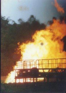 Shell Flare in Umuechem