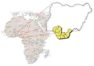 Niger Delta of Nigera