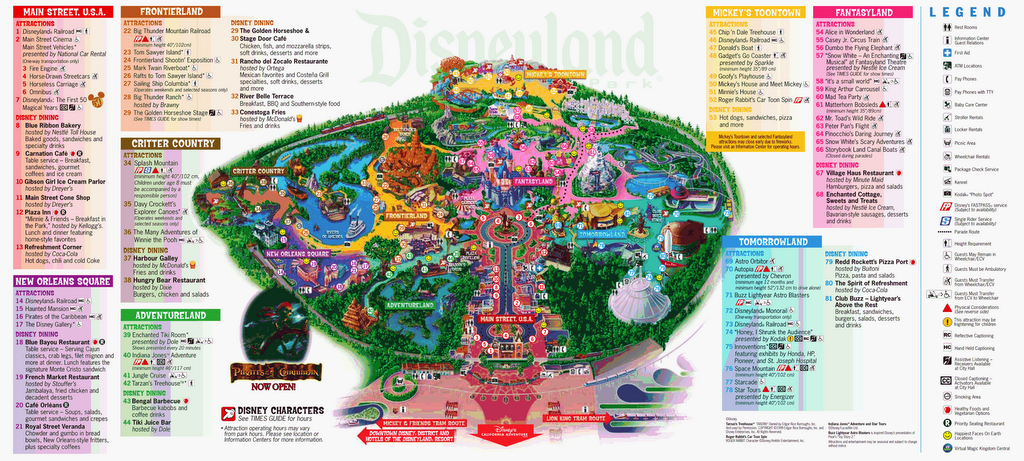 Disneyland Map 2004 Related Keywords & Suggestions - Disneyland Map ...
