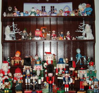 The Dining Room Hutch Of Misfit Toys...