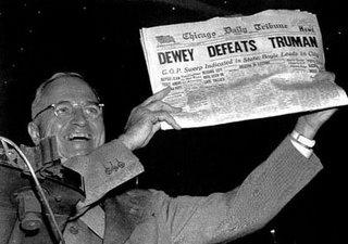Dewey Beats Truman