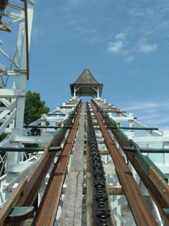 Leap The Dips Lift Hill