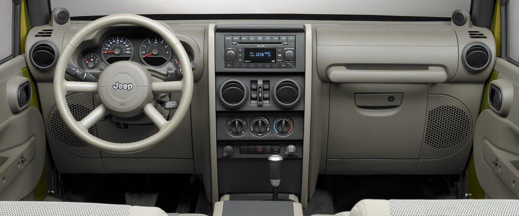 Auto des nouvelles de jeep for Interieur jeep