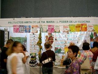 Stand de la AMITA en la Expo Infinito de Guadalajara
