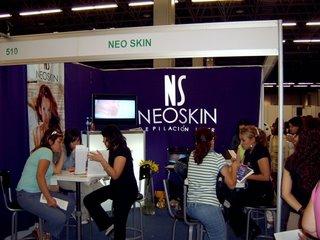 Stand de NeoSkin en Expo Infinito Guadalajara