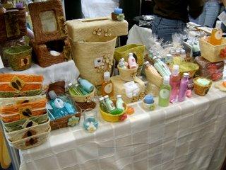 Productos de limpieza y masaje o algo así