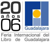 Logo de la 20a. Feria Internacional del Libro de Guadalajara.