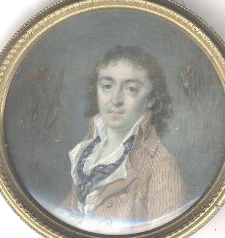 2 - European Miniature Portraits: Noireterre, Marie Therese de ...
