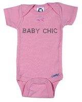 """Baby Chic"" Girl Onesie"