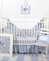Duck Duck Goose Crib Bedding Set