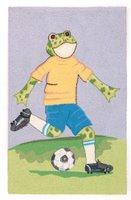 Soccer Frog Rug