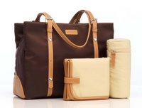 Storksak Gigi Chocolate Diaper Bag - Angelina Jolie's Choice!